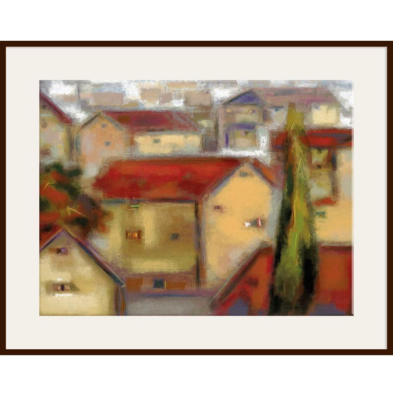 Eric Balint - Village View, Dark Frame 98844