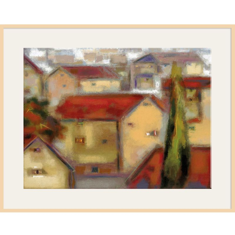 Eric Balint - Village View, Light Frame 98844