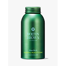 Buy Molton Brown Bracing Silver Birch Thermal Muscle Soak, 300g Online at johnlewis.com