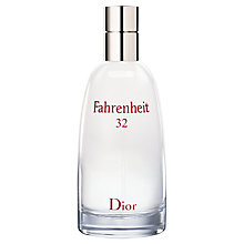 Buy Dior Fahrenheit 32 Eau De Toilette Spray Online at johnlewis.com