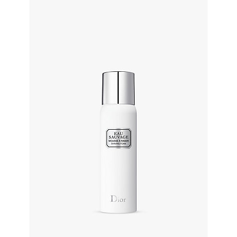 Buy Dior Eau Sauvage Shaving Foam, 200ml Online at johnlewis.com