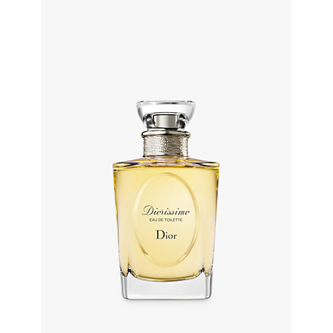 Buy Dior Diorissimo Eau De Toilette Spray Online at johnlewis.com