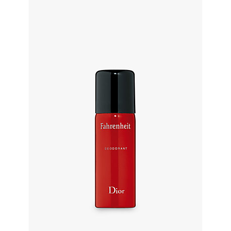 Buy Dior Fahrenheit Deodorant Spray, 150ml Online at johnlewis.com