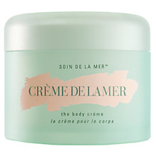 Buy Crème de la Mer The Body Crème, 300ml with Free Lifting Contour Serum, 5ml Online at johnlewis.com