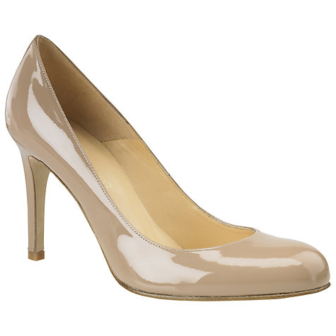 Buy L.K. Bennett Shilo Round Toe Court Shoes Online at johnlewis.com