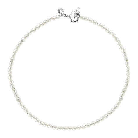 Buy Dower & Hall Freshwater Pearl Necklace, White Online at johnlewis.com