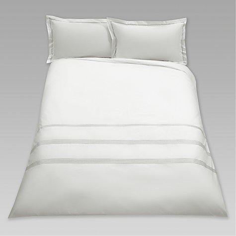 Buy John Lewis Embroidered Dots Bedding Online at johnlewis.com