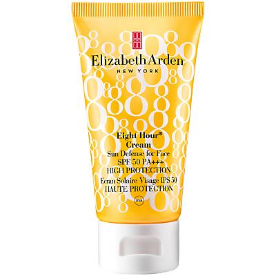 shop for Elizabeth Arden Eight Hour® Cream Sun Defense for Face SPF 50 High Protection, 50ml at Shopo
