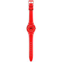 Buy Swatch GC121 Calicarpa Unisex Analogue Strap Watch Online at johnlewis.com