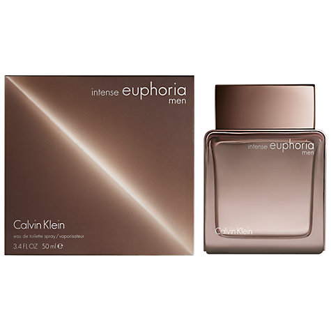 Buy Calvin Klein Euphoria for Men Intense Limited Edition Eau de Toilette, 50ml Online at johnlewis.com