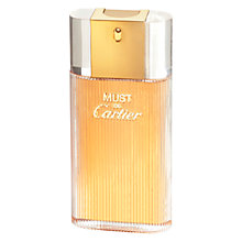 Buy Cartier Must de Cartier Eau de Toilette Spray Online at johnlewis.com
