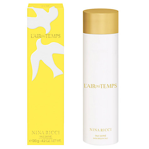 Buy Nina Ricci, L'Air du Temps Talc, 150ml Online at johnlewis.com
