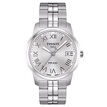 Buy Tissot T049.41.11.033.00 Men's Bracelet Watch, Silver Online at johnlewis.com