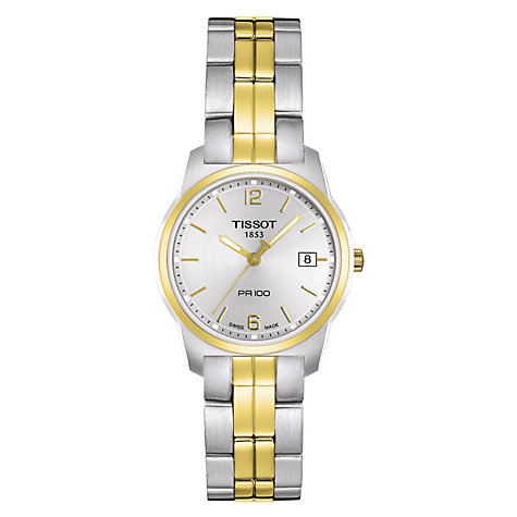 Buy Tissot 7611608245941 Women's Bicolour PVD Watch Online at johnlewis.com
