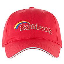 Buy Rainbows Uniform Cap, Red Online at johnlewis.com