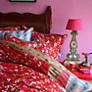 Buy PiP Studio Flower Harmony Throw, Red Online at johnlewis.com