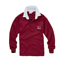Buy Leehurst Swan School Boys' Reception - Year 11 Rugby Shirt Online at johnlewis.com