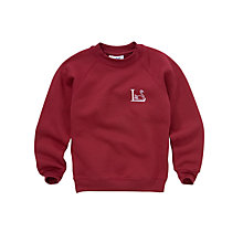 Buy Leehurst Swan School Unisex Reception - Year 11 Sports Sweatshirt Online at johnlewis.com