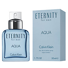 Buy Calvin Klein Aqua Eternity for Men Eau de Toilette Online at johnlewis.com
