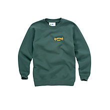 Buy St John's Senior School Unisex Bottle Green Sweatshirt Online at johnlewis.com