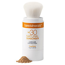 Buy bareMinerals SPF30 Natural Sunscreen Online at johnlewis.com