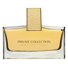 Buy Estée Lauder Private Collection Amber Ylang Ylang Eau de Parfum 75ml with Makeup Artist Collection Online at johnlewis.com