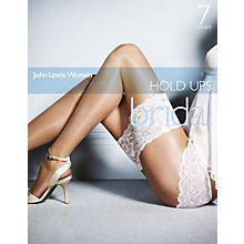 Buy John Lewis Bridal Hold Ups Online at johnlewis.com