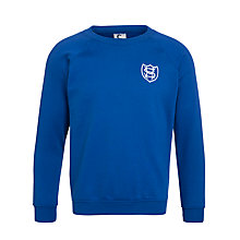 Buy Sherborne House School Unisex Sweatshirt, Royal Blue Online at johnlewis.com