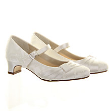 Buy Rainbow Club Delilah Bridesmaids' Shoes with Heel, Ivory Online at johnlewis.com