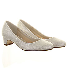 Buy Rainbow Club Sasha Bridesmaids' Shoes, Ivory Online at johnlewis.com