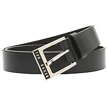 Buy Ted Baker Daltun Leather Belt Online at johnlewis.com