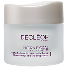 Buy Decléor Hydra Floral Anti-Pollution Flower Nectar Moisturising Cream, 50ml Online at johnlewis.com