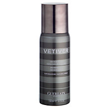 Buy Guerlain Vetiver Deodorant Spray, 150ml Online at johnlewis.com