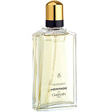 Buy Guerlain Héritage Deodorant Online at johnlewis.com