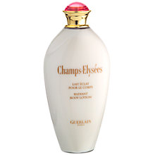Buy Guerlain Champs Elysées Body Lotion, 200ml Online at johnlewis.com