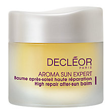 Buy Decléor High Repair After Sun Balm For The Face, 15ml Online at johnlewis.com