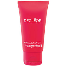 Buy Decléor After Sun Cream For The Face, 50ml Online at johnlewis.com
