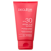 Buy Decléor Protective Body Milk SPF30, 50ml Online at johnlewis.com