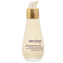 Buy Decléor Excellence De L'Age Neck and Décolleté Concentrate, 50ml Online at johnlewis.com