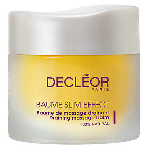Buy Decléor Slim Effect Massage Drain Balm, 50ml Online at johnlewis.com