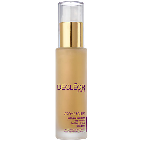 Buy Decléor Perfect Sculpt Bust Beautifying Toning Gel, 50ml Online at johnlewis.com