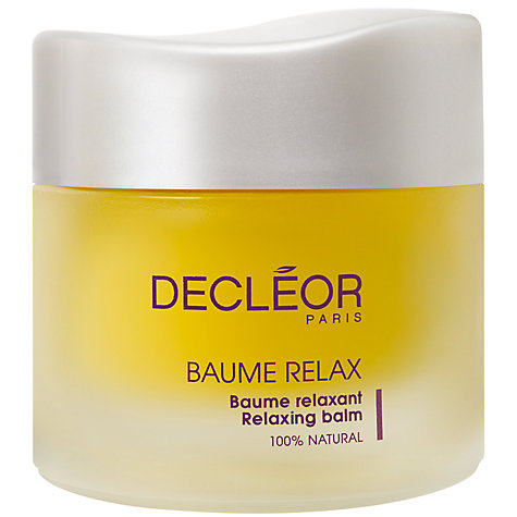 Buy Decléor Aromessence™ Baume Relax, 50ml Online at johnlewis.com