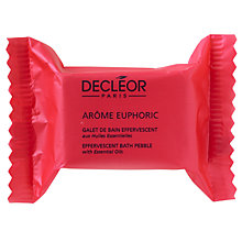 Buy Decléor Arôme Euphoric Effervescent Bath Pebbles, Box of 4 Online at johnlewis.com