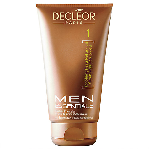 Buy Decléor Exfoliant Cleansing Gel For Men, 125ml Online at johnlewis.com