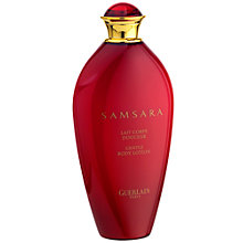 Buy Guerlain Samsara Body Lotion, 200ml Online at johnlewis.com