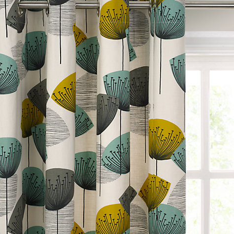 Buy Sanderson Dandelion Clocks Lined Eyelet Curtains Online at johnlewis.com