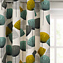 Sanderson Dandelion Clocks Lined Eyelet Curtains