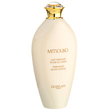 Buy Guerlain Mitsouko Body Lotion, 200ml Online at johnlewis.com