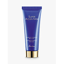 Buy Guerlain Super Aqua Mask, 75ml Online at johnlewis.com