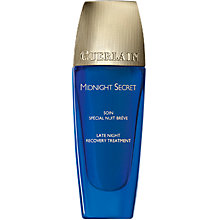 Buy Guerlain Midnight Secret Late Night Recovery Treatment, 30ml Online at johnlewis.com